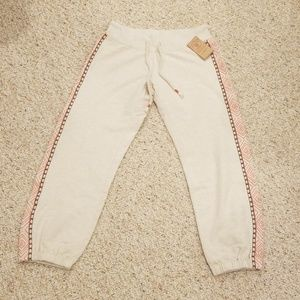 NWT! Lucky Brand Size XS Cropped Sweatpants